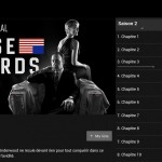 Netflix sur Android House of cards
