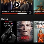 Netflix sur iPhone