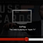 Netflix sur iPhone AirPlay