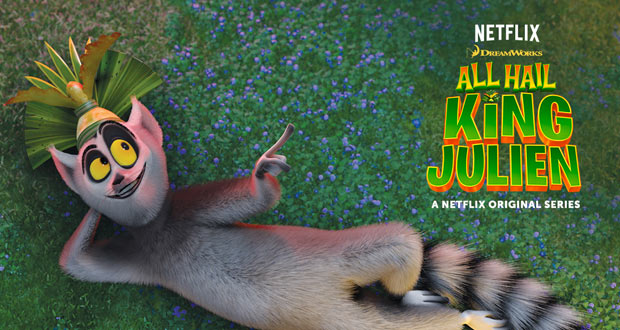 All Hail King Julien sur Netflix