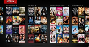 Catalogue de films et séries TV Netflix