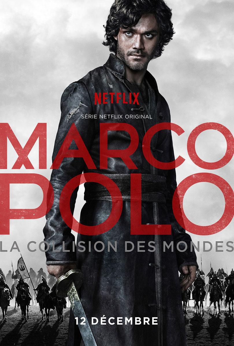 Affiche Marco Polo Netflix