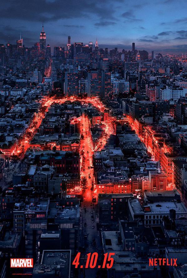 Affiche de la série Marvel's Daredevil de Netflix