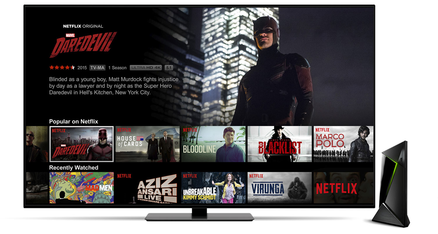 NVIDIA SHIELD TV Netflix