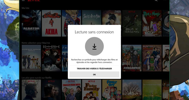Télécharger les films et séries TV Netflix gratuit