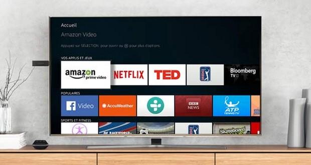 Fire TV Netflix sur TV