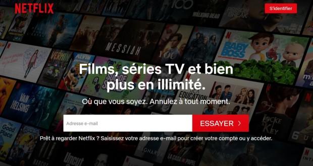 Netflix mois d'essai